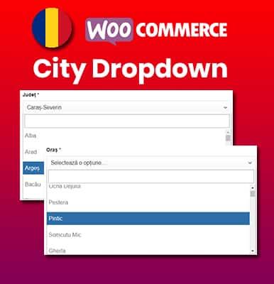 City Dropdown Woocommerce