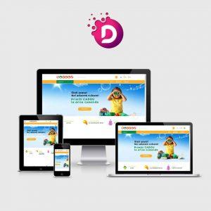 Creare magazin online jocuri si jucarii pentru copii - daneti.ro