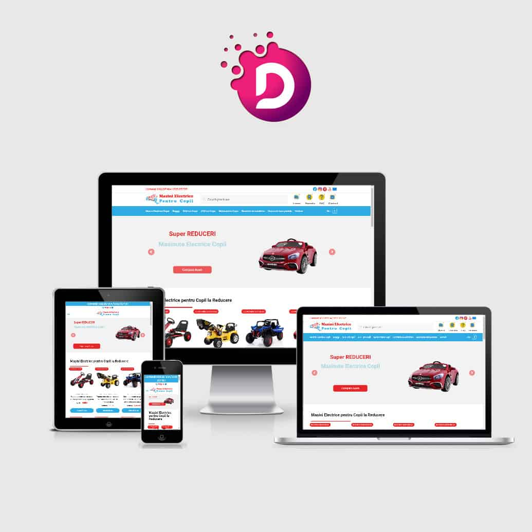 Creare magazin online masinielectricecopii.ro