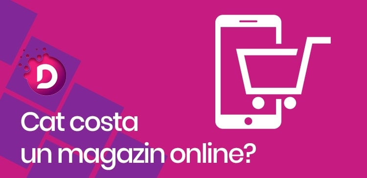 Cat costa un site de tip magazin online?