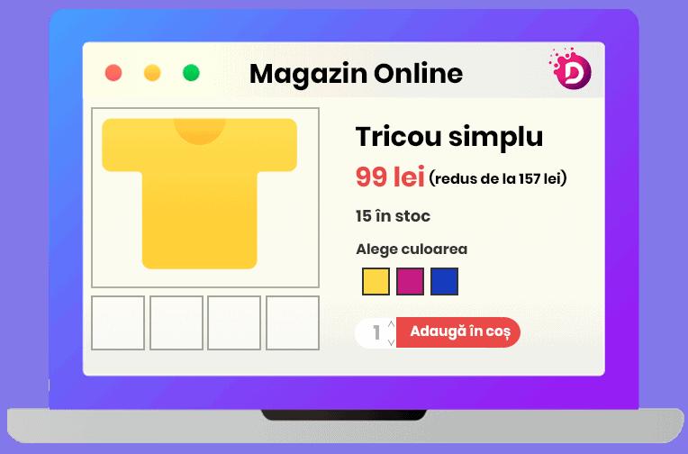 creare magazin online, magazin virtual la cheie, realizare magazine online