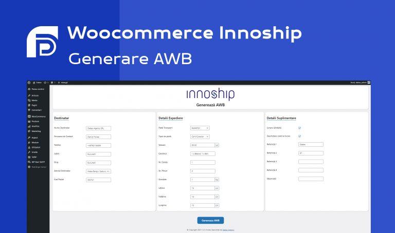 Generare AWB Innoship